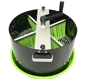 Open Top Bowl Leaf Trimming Machine