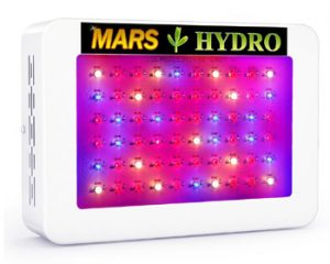 Mars Hydro 600w Coverage